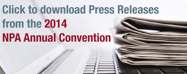 2014 NPA Annual Convention Press Releases