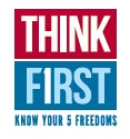 Think First-First Amendment LOGO